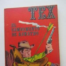 Cómics: TEX Nº 8 · 1971 · EL CAMPAMENTO DE RAWATHO BURU LAN CS188. Lote 174441284