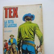 Cómics: TEX Nº 37, LA RUTA DE LAREDO BURU LAN CS188. Lote 174441972