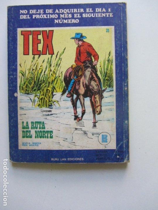 Cómics: TEX. Nº 38. BATALLA EN LA NOCHE BURU LAN Cs188 - Foto 2 - 174442035