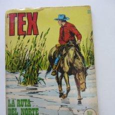 Cómics: TEX Nº 39. LA RUTA DEL NORTE. BURU LAN CS188. Lote 174442115