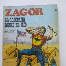 Cómics: ZAGOR Nº 22 - LA CAMPANA SOBRE EL RÍO BURU LAN 1972 CS188. Lote 174446457