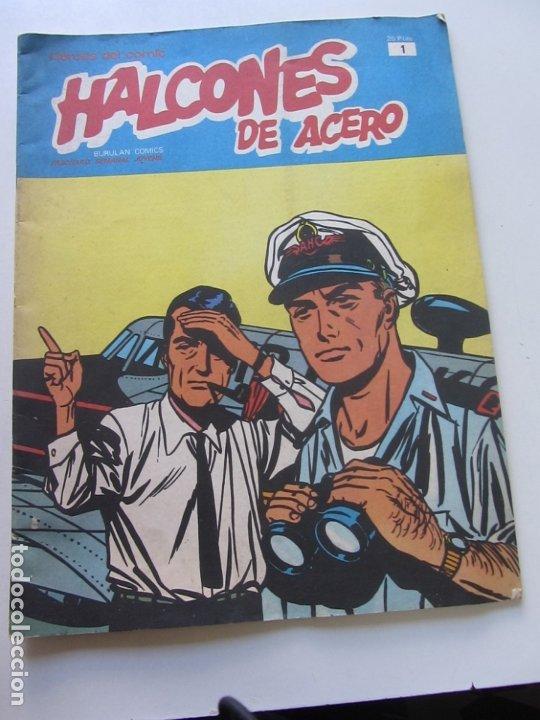 HALCONES DE ACERO Nº 1 - BURULAN COMICS CS188 (Tebeos y Comics - Buru-Lan - Halcones de Acero)