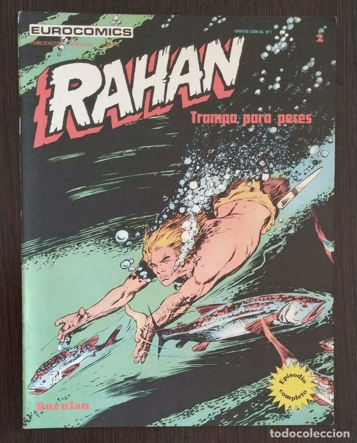 Cómics: RAHAN, NUMERO 1, 2 Y 3. BUEN ESTADO. - Foto 4 - 174484808