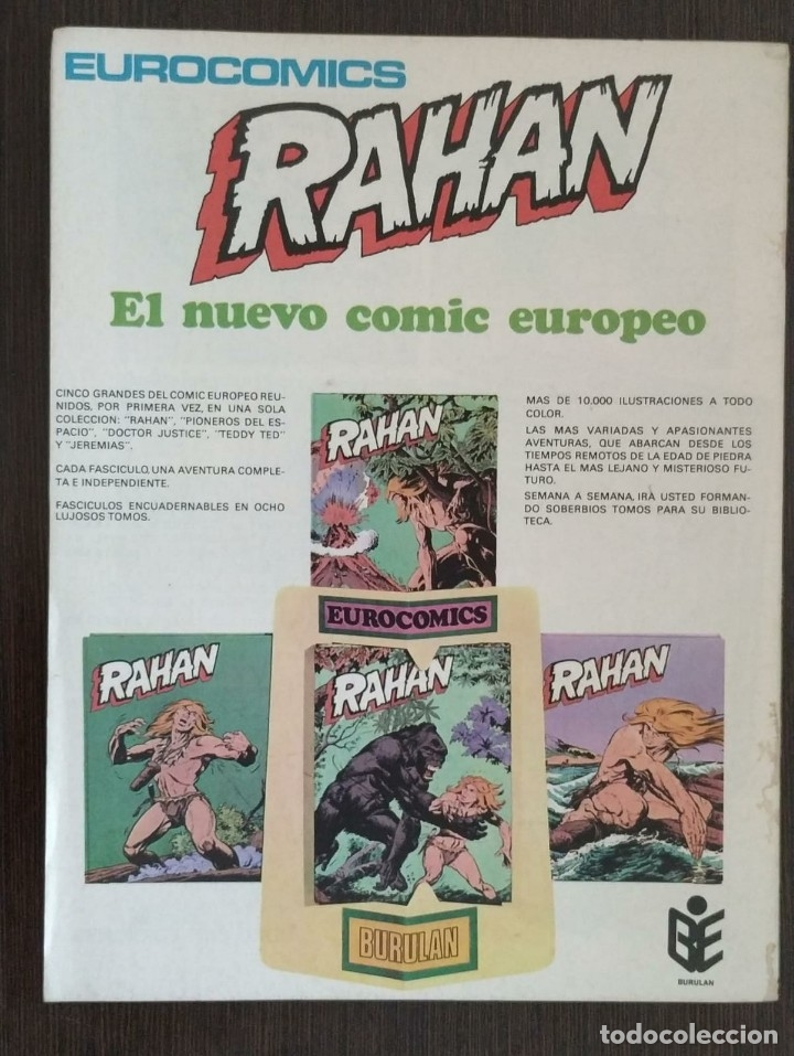 Cómics: RAHAN, NUMERO 1, 2 Y 3. BUEN ESTADO. - Foto 5 - 174484808