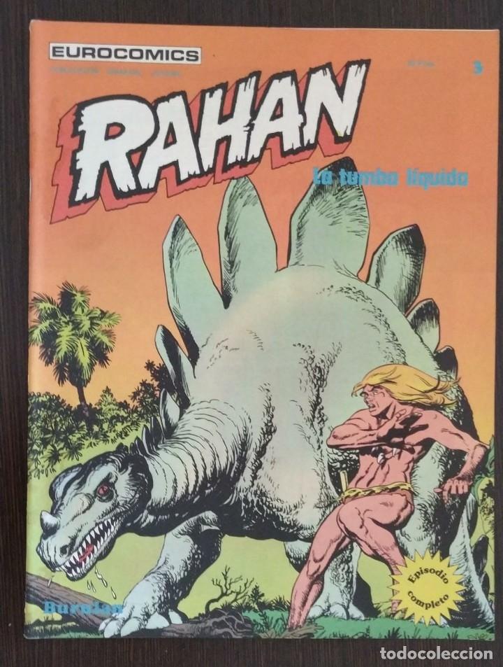 Cómics: RAHAN, NUMERO 1, 2 Y 3. BUEN ESTADO. - Foto 6 - 174484808