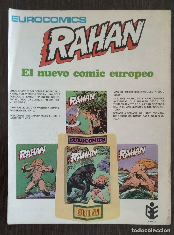 Cómics: RAHAN, NUMERO 1, 2 Y 3. BUEN ESTADO. - Foto 7 - 174484808