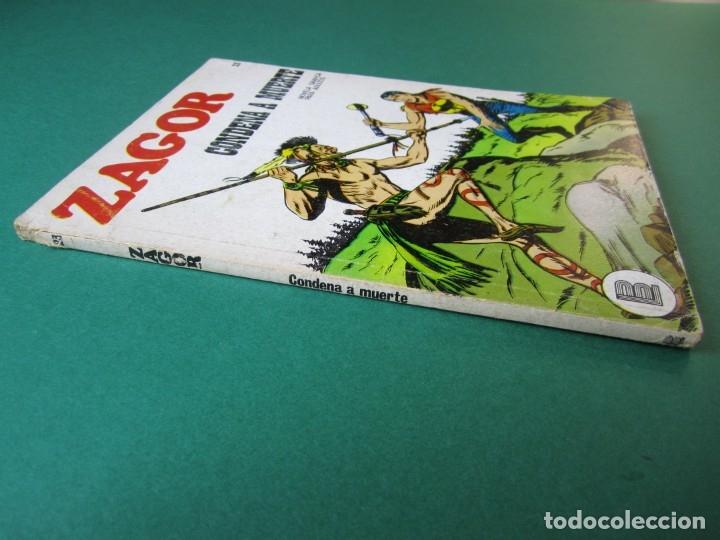 Cómics: ZAGOR (1971, BURU LAN) 23 · 1-V-1972 · CONDENA A MUERTE - Foto 3 - 174995548
