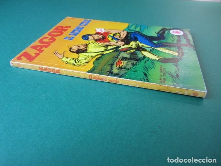 Cómics: ZAGOR (1971, BURU LAN) 18 · 15-II-1972 · EL ABISMO VERDE - Foto 3 - 174998869