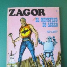 Cómics: ZAGOR (1971, BURU LAN) 16 · 15-I-1972 · EL MONSTRUO DE ACERO. Lote 174998877