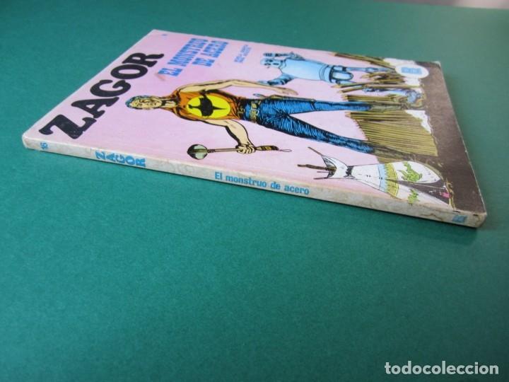 Cómics: ZAGOR (1971, BURU LAN) 16 · 15-I-1972 · EL MONSTRUO DE ACERO - Foto 3 - 174998877