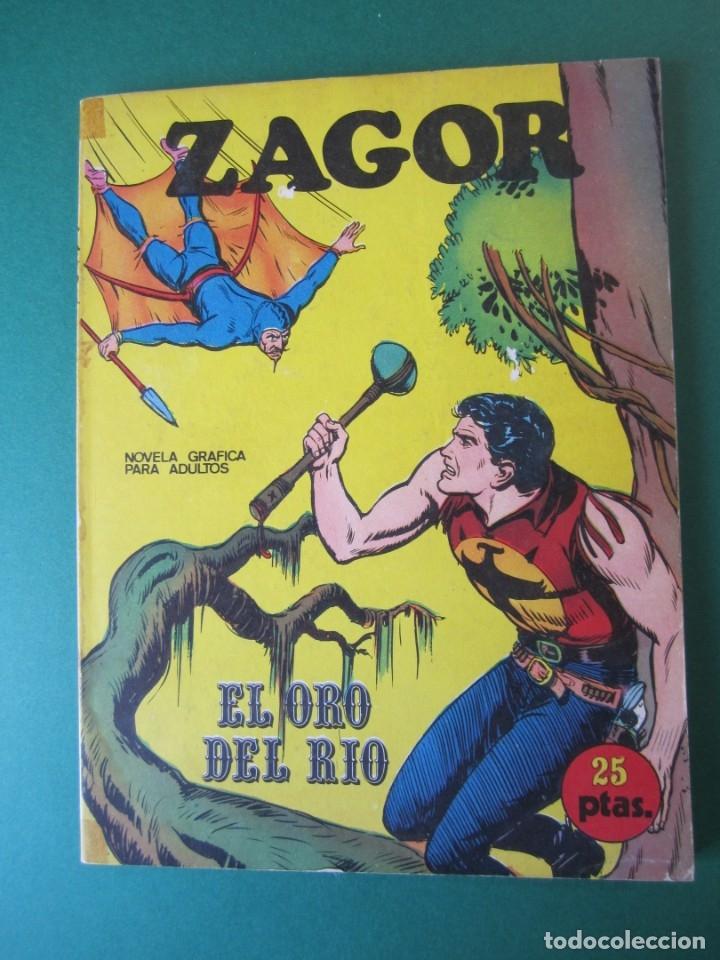ZAGOR (1971, BURU LAN) 3 · 1-VII-1971 · EL ORO DEL RÍO (Tebeos y Comics - Buru-Lan - Zagor)