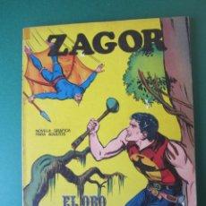 Cómics: ZAGOR (1971, BURU LAN) 3 · 1-VII-1971 · EL ORO DEL RÍO. Lote 174998882