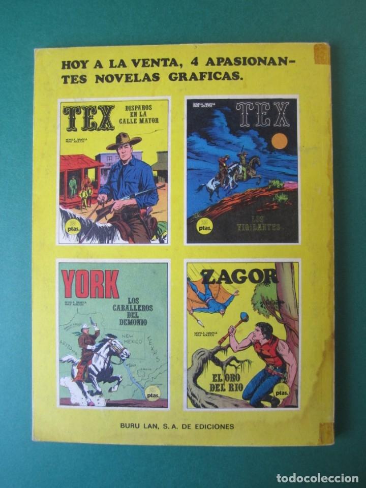 Cómics: ZAGOR (1971, BURU LAN) 3 · 1-VII-1971 · EL ORO DEL RÍO - Foto 2 - 174998882