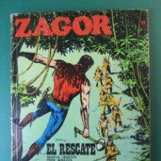 Cómics: ZAGOR (1971, BURU LAN) 32 · 15-IX-1972 · EL RESCATE. Lote 174998898