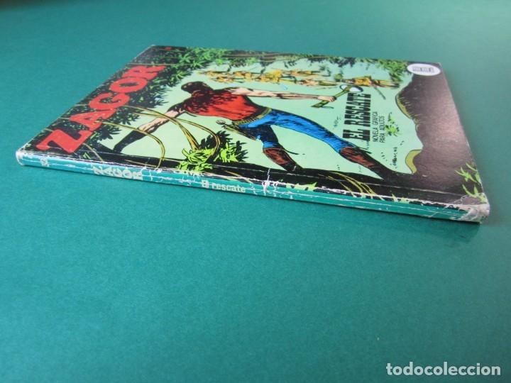 Cómics: ZAGOR (1971, BURU LAN) 32 · 15-IX-1972 · EL RESCATE - Foto 3 - 174998898