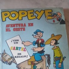 Cómics: COMIC DE POPEYE NUMERO 6 : AVENTURA EN EL OES . AÑOS 70. BURU LAN DE 35 Y 40 PTAS. JOYA DE COLECCIÓN. Lote 175019698