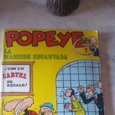Cómics: COMIC DE POPEYE NUMERO 7 : LA MANSIÓN ENCANTADA . AÑOS 70. BURU LAN . JOYA DE COLECCIÓN. Lote 175020269