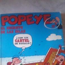Cómics: COMIC DE POPEYE NUMERO 10 : EL SECRETO DE LAS ISLAS . AÑOS 70. BURU LAN . JOYA DE COLECCIÓN. Lote 175020930