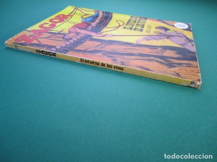 Cómics: ZAGOR (1971, BURU LAN) 27 · 1-VII-1972 · EL INFIERNO DE LOS VIVOS - Foto 3 - 175076197