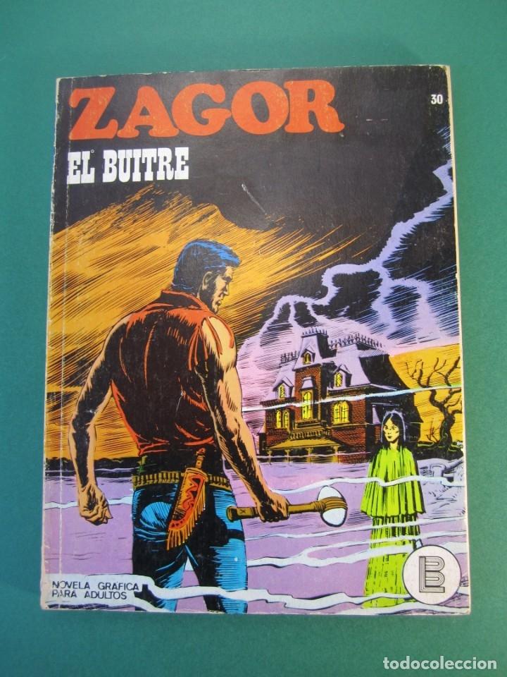 ZAGOR (1971, BURU LAN) 30 · 15-VIII-1972 · EL BUITRE (Tebeos y Comics - Buru-Lan - Zagor)