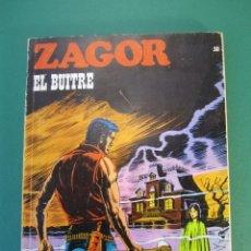 Cómics: ZAGOR (1971, BURU LAN) 30 · 15-VIII-1972 · EL BUITRE. Lote 230888420