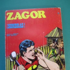 Cómics: ZAGOR (1971, BURU LAN) 24 · 15-V-1972 · !SOMBRAS¡. Lote 175076248