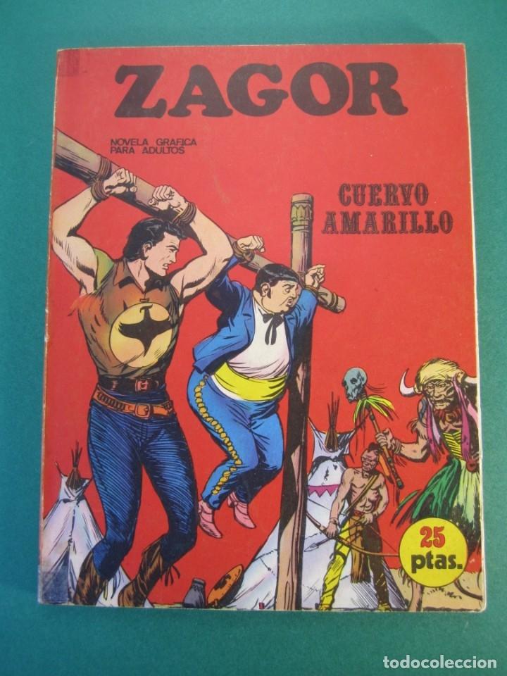 ZAGOR (1971, BURU LAN) 4 · 15-VII-1971 · CUERVO AMARILLO (Tebeos y Comics - Buru-Lan - Zagor)