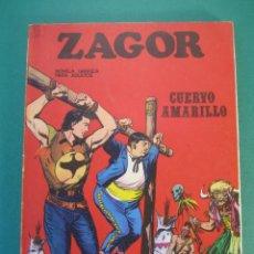 Cómics: ZAGOR (1971, BURU LAN) 4 · 15-VII-1971 · CUERVO AMARILLO. Lote 230732135
