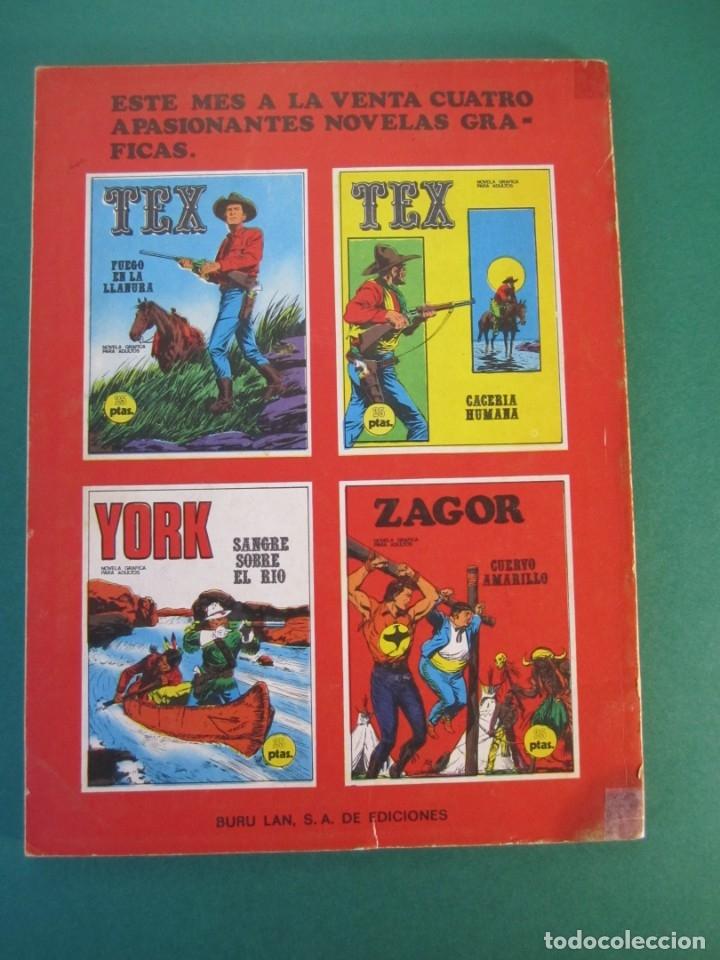 Cómics: ZAGOR (1971, BURU LAN) 4 · 15-VII-1971 · CUERVO AMARILLO - Foto 2 - 230732135