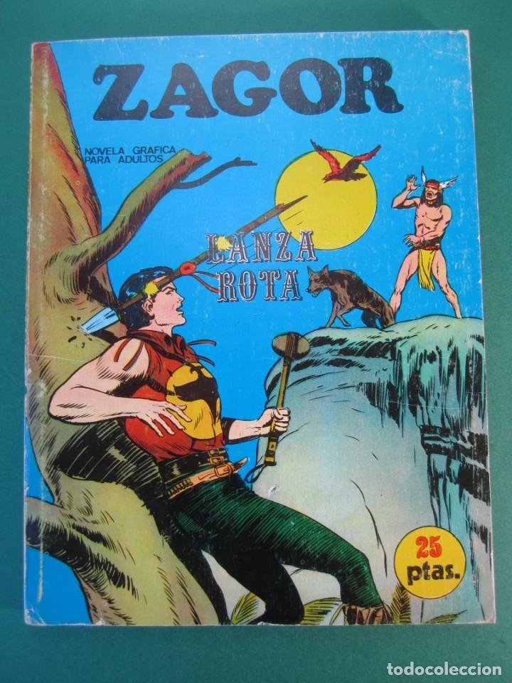 ZAGOR (1971, BURU LAN) 6 · 15-VIII-1971 · LANZA ROTA (Tebeos y Comics - Buru-Lan - Zagor)