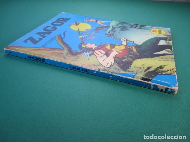 Cómics: ZAGOR (1971, BURU LAN) 6 · 15-VIII-1971 · LANZA ROTA - Foto 3 - 175076294