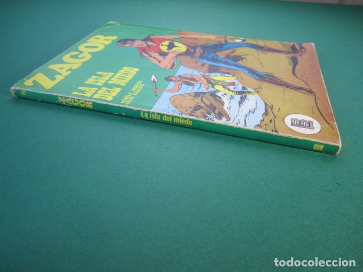Cómics: ZAGOR (1971, BURU LAN) 15 · 1-I-1972 · LA ISLA DEL MIEDO - Foto 3 - 175076322