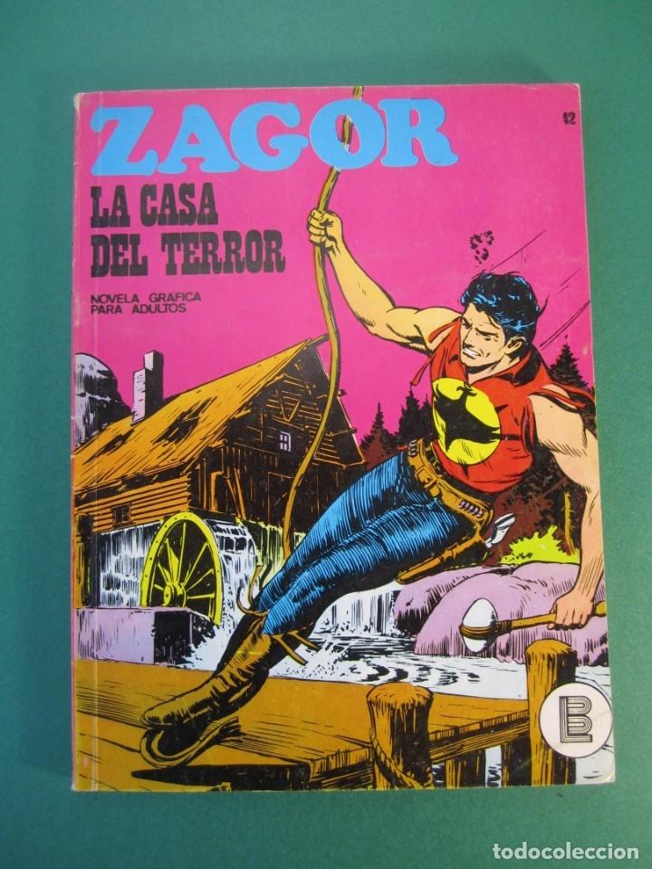 ZAGOR (1971, BURU LAN) 42 · 15-II-1973 · LA CASA DEL TERROR (Tebeos y Comics - Buru-Lan - Zagor)