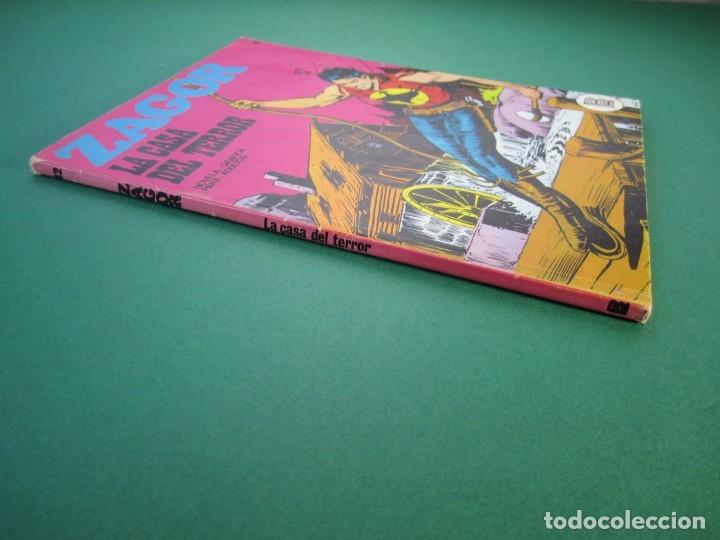 Cómics: ZAGOR (1971, BURU LAN) 42 · 15-II-1973 · LA CASA DEL TERROR - Foto 3 - 175076474
