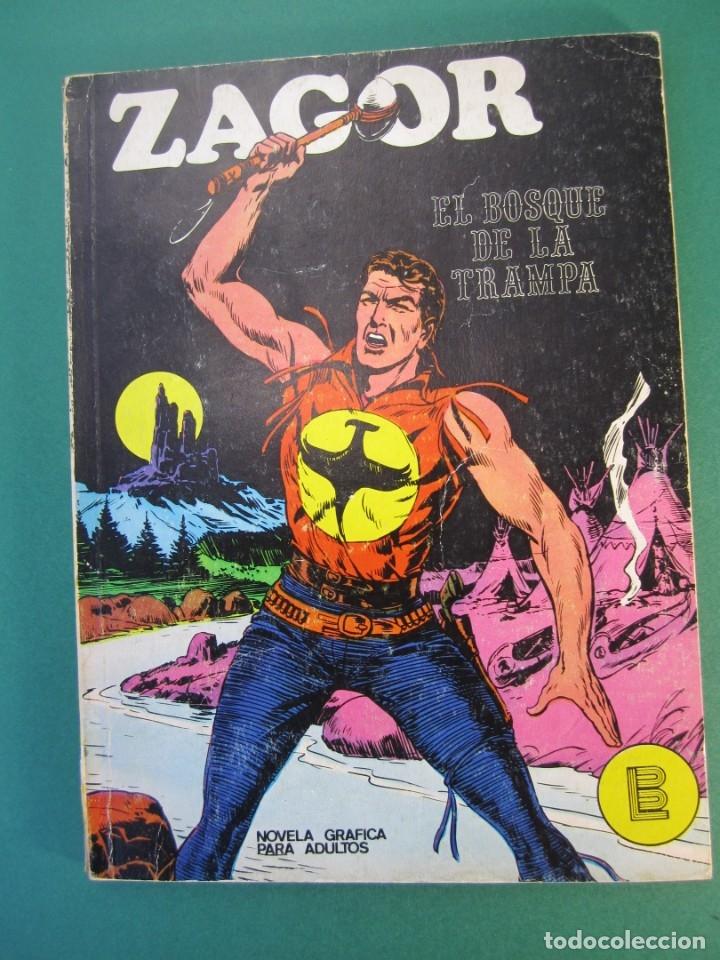 ZAGOR (1971, BURU LAN) 1 · 1-VI-1971 · EL BOSQUE DE LA TRAMPA (Tebeos y Comics - Buru-Lan - Zagor)