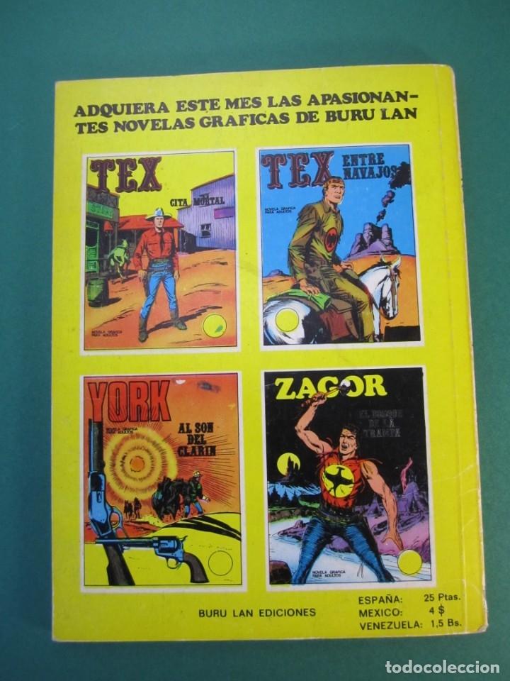 Cómics: ZAGOR (1971, BURU LAN) 1 · 1-VI-1971 · EL BOSQUE DE LA TRAMPA - Foto 2 - 175076518