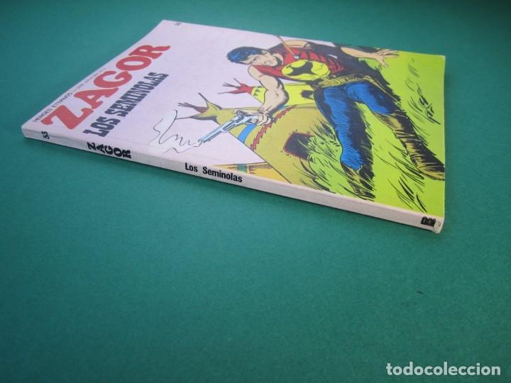 Cómics: ZAGOR (1971, BURU LAN) 53 · 1-VIII-1973 · LOS SEMINOLAS - Foto 3 - 175076557