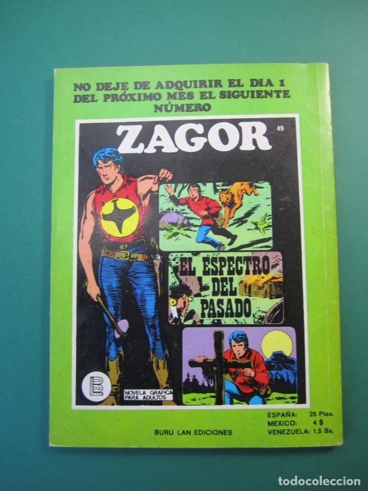Cómics: ZAGOR (1971, BURU LAN) 48 · 15-V-1973 · ¡ODIO! - Foto 2 - 175076612