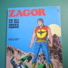 Cómics: ZAGOR (1971, BURU LAN) 43 · 1-III-1973 · UN DÍA NEGRO. Lote 175076638