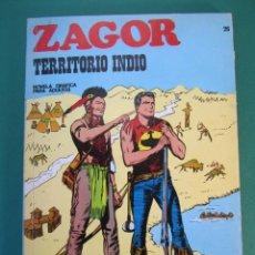 Cómics: ZAGOR (1971, BURU LAN) 26 · 15-VI-1972 · TERRITORIO INDIO. Lote 175076753