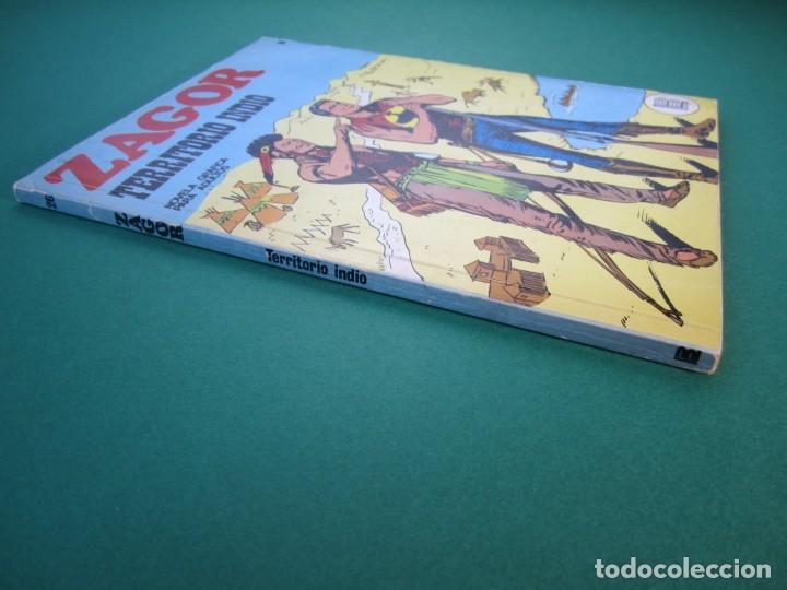 Cómics: ZAGOR (1971, BURU LAN) 26 · 15-VI-1972 · TERRITORIO INDIO - Foto 3 - 175076753