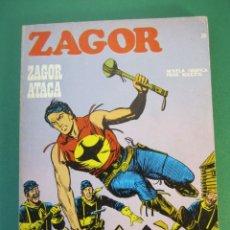 Cómics: ZAGOR (1971, BURU LAN) 36 · 15-XI-1972 · ZAGOR ATACA. Lote 175076874