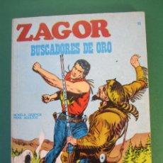 Comics : ZAGOR (1971, BURU LAN) 10 · 15-X-1971 · BUSCADORES DE ORO. Lote 175077007
