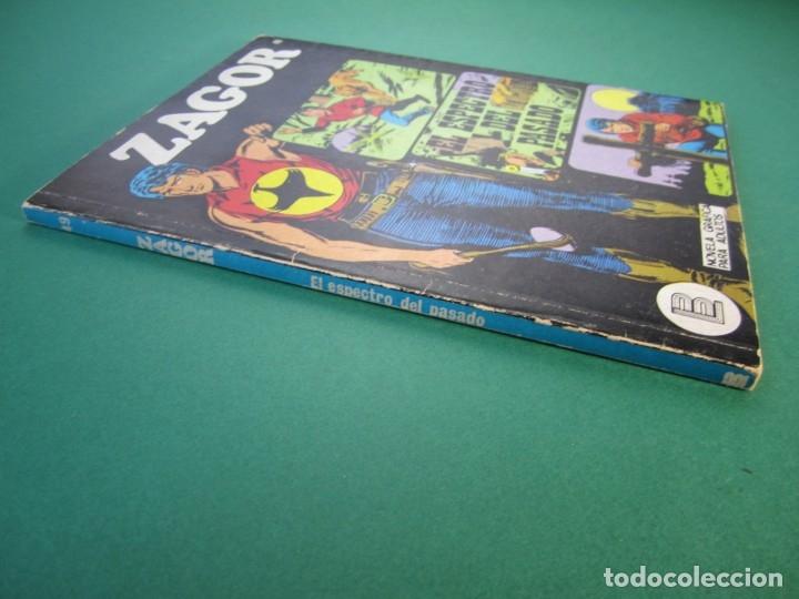 Cómics: ZAGOR (1971, BURU LAN) 49 · 1-VI-1973 · EL ESPECTRO DEL PASADO - Foto 3 - 175077028