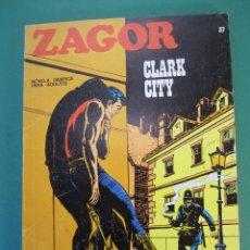Cómics: ZAGOR (1971, BURU LAN) 37 · 1-XII-1972 · CLARK CITY. Lote 175077227