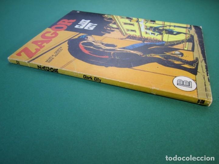 Cómics: ZAGOR (1971, BURU LAN) 37 · 1-XII-1972 · CLARK CITY - Foto 3 - 175077227