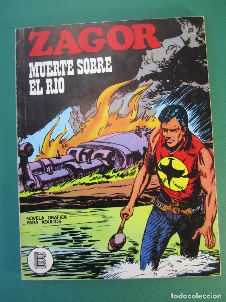ZAGOR (1971, BURU LAN) 39 · 1-I-1973 · MUERTE SOBRE EL RÍO (Tebeos y Comics - Buru-Lan - Zagor)
