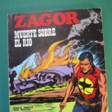 Cómics: ZAGOR (1971, BURU LAN) 39 · 1-I-1973 · MUERTE SOBRE EL RÍO. Lote 175077237