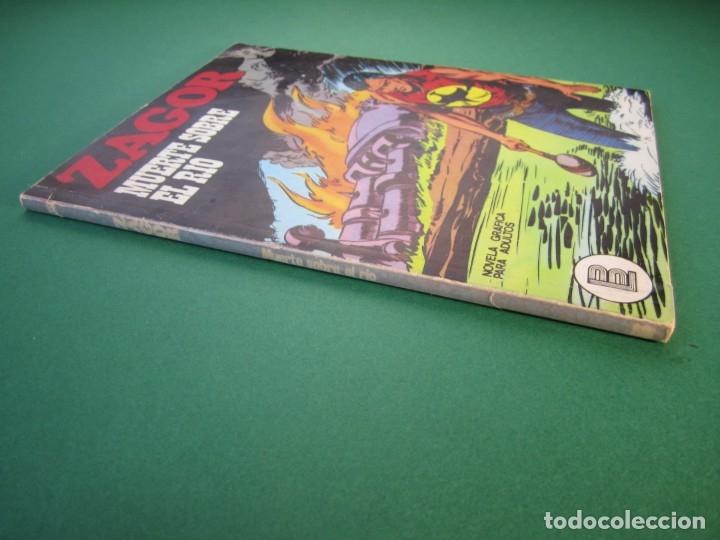 Cómics: ZAGOR (1971, BURU LAN) 39 · 1-I-1973 · MUERTE SOBRE EL RÍO - Foto 3 - 175077237