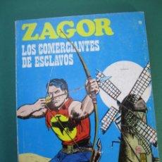 Cómics: ZAGOR (1971, BURU LAN) 19 · 1-III-1972 · LOS COMERCIANTES DE ESCLAVOS. Lote 175077332